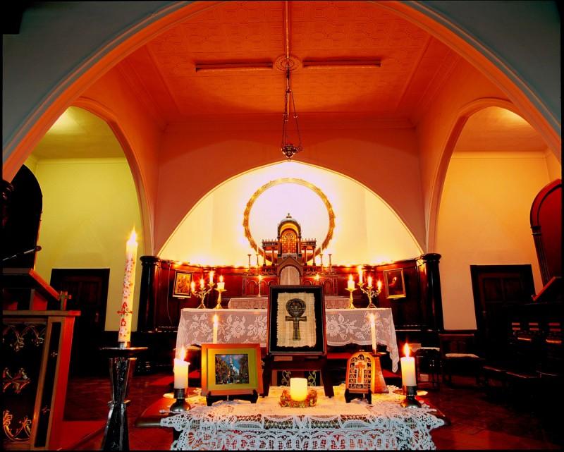 富岡カトリック教会の雪あかり 2010 ⑤
