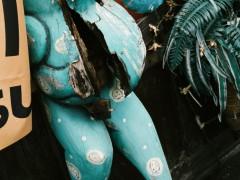 写真展会場での一番人気はこのカエルくん^^ が、先日行ってみたら、どうやら鬼籍に入られたようです_| ̄|○