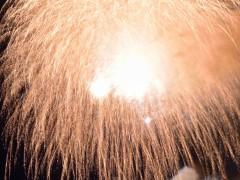 フィナーレを写し切れるかが花火撮影の肝であり醍醐味であります^^ これぞ花火職人のお仕事(笑)